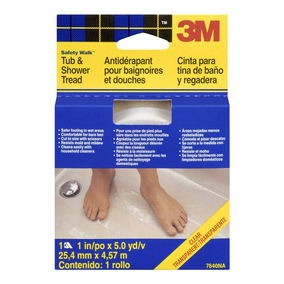 3m Safety-walk Cinta Antiderrapante Para Baño 1 X 5 Yd