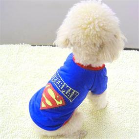 Roupa Animais De Estimação Cães Gatos Superman Pet Fashion