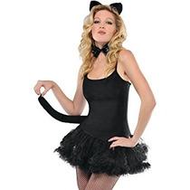 Disfraz Amscan Para Mujer Del Gato Juego De Accesorios - Oí