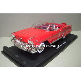 Chevrolet Impala 1958 Convertible - Clasico- R Motormax 1/18