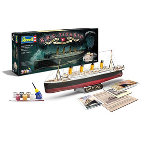 Kit Para Montar Revell Gif Set R.m.s Titanic 1:400 - 05715