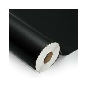 Adesivo Envelopamento Preto Fosco 1,22x1,00