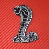 Emblema Para Mustang Cobra Lateral Precio Por El Par
