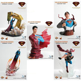 Superman Hot Toys Diorama Limited Pvc Figure Nueva