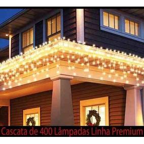 Cascata 400 Lâmpadas Luz Fixa Não Pisca 110v Festas Eventos
