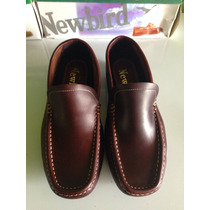 Zapatos New Bird Originales 100% Cuero Talla 40 Caballeros!!