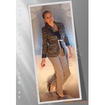 Conjuntos De Pantalón Y Blazer Bello Regalo Para Mama