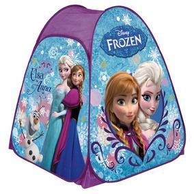 Barraca Toca Portátil Infantil Disney Frozen Ana Elza Olaf