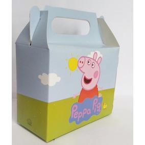 40 Caixinha Surpresa Lembrancinha Peppa Pig