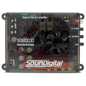 Soundigital Sd600.1d / Sd600.1 / Sd600 - 600w Rms - 2 Ohms