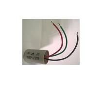 Capacitor Ventilador 3 Fios Epcos 6uf + 3uf - 1 Peça