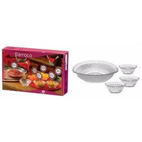 Conjunto De Tigelas Para Sobremesa Barroco 7 Pecas