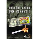 Billete A Caja De Fosforos Y Cigarrillos ( Con Dolar)