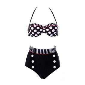 Traje De Baño Vintage Bikini Retro Liquidacion Final Provi