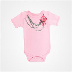 Pañaleros Para Bebé Niña Con Con Collar Y Otros Set 3 Piezas
