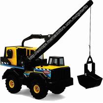 Oferta ! Tonka Camion Excavadora Metal Grande ! Envío Incl !