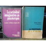 Lote De 2 Libros De Psicoterapia Editorial Eudeba