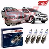 Jogo Vela Bosch Sp34 Montana 1.4 8v Flex 97-102cv 10-17