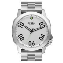 Relógio Masculino Nixon Ranger 45 Ss Silver