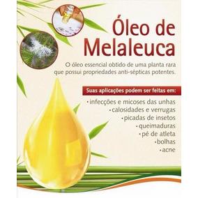 100 Ml De Oleo Melaleuca Tea Tree Importado Puro Natural Top