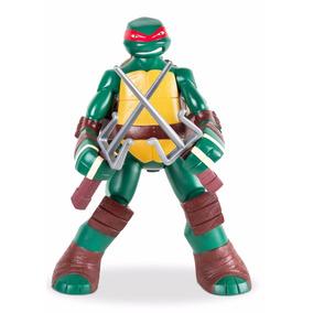 Boneco Gigante Tartarugas Ninja Raphael 55 Cm Mimo