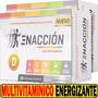 -20% Enaccion Vitaminas 120 Tabs Con Guarana Y Ginkgo Biloba