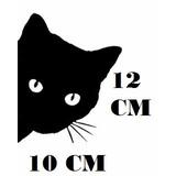 Adesivo Divertido Gatinho Gato Preto Pet Com Frete Grátis