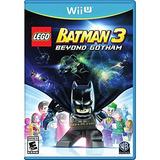 Lego Batman 3 Más Allá De Gotham - Wii U