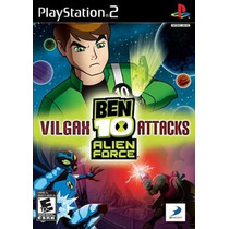 Jogo Patch Ben 10 Alien Force Vilgax Attacks Play2 Ps 2 Game
