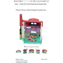 Casinha Fisher Price Litle People Sweet Souds Home