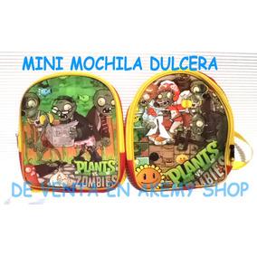 Plantas Vs Zombies Minimochilas Dulceras