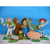 Toy Story X 7 Personajes, Mesa Dulce Adornos Torta