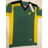 Camiseta Jamaica Kappa Suplente Verde 2015 Adulto Original