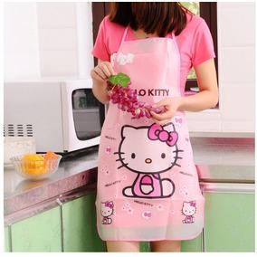 Delantal Mandil Cocina Hello Kitty By Sanrio Nuevo