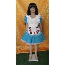 Disfraz Alicia En El Pais De Las Maravillas Talles 4 Al 10