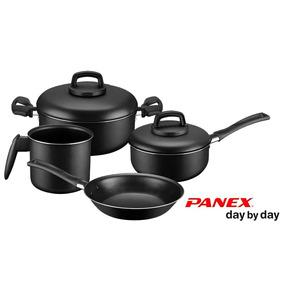 Conjunto De Panelas 4 Pçs Alumínio - Day By Day - Panex