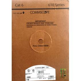 Bobina De Cable Utp Categoría 6 Color Gris Commscope/amp.
