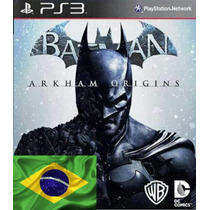 Batman Arkham Origins Ps3 Dublado Mídia Digital