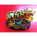 Tigre De La Riqueza, Lingotes Y Monedas Feng Shui