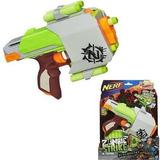 Pistola Nerf Zombie Strike Sidestrike Ref: A6557 Hasbro *