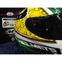 Casco Mt Thunder Bull Gloss Green En Caja Original Con Funda