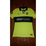 Camiseta Boca Nike Verde Fluo