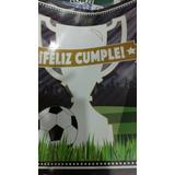 Cartel Feliz Cumple Temática Fútbol