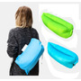 Lazybag Sillon Puff Inflable Aire Lazy Bag Pileta Playa