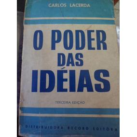 Livro O Poder Das Idéias (autografado Para Maluf) - Raridade