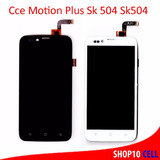 Display Lcd Touch Cce Motion Plus Sk504 + Dupla Face + Frete