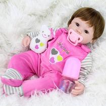 Bebê Reborn Boneca Realista Larinha Pronta Entrega