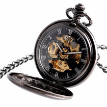 Fino Reloj De Bolsillo Tipo Antiguo De Cuerda Envio Gratis