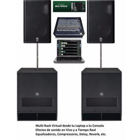 Rack De Procesos En Tu Laptop Para Consola Audio