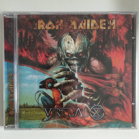 Cd Iron Maiden Virtual Xl (1998) Novo Lacrado De Fábrica!!!